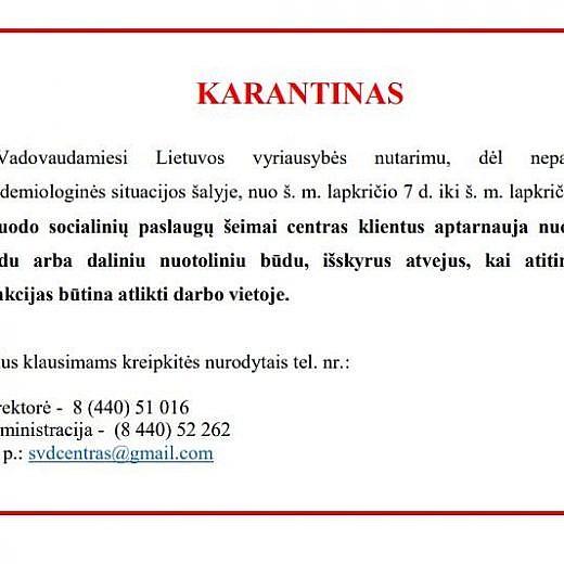 Karantinas